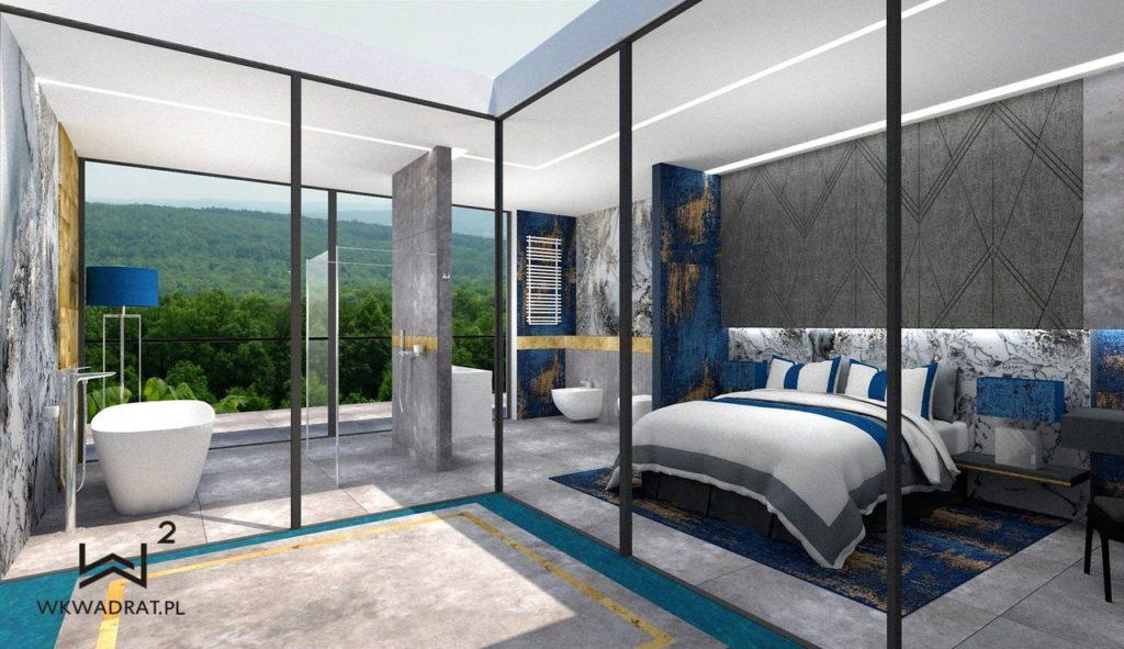PROJEKTOWANIE I ARANŻACJA - ARCHITEKT WNĘTRZ OSTRÓDA 1-projekt-wnętrz-pokoju-hotelowego-aranzacja-apartementu-pracownia-wkwadrat-pl