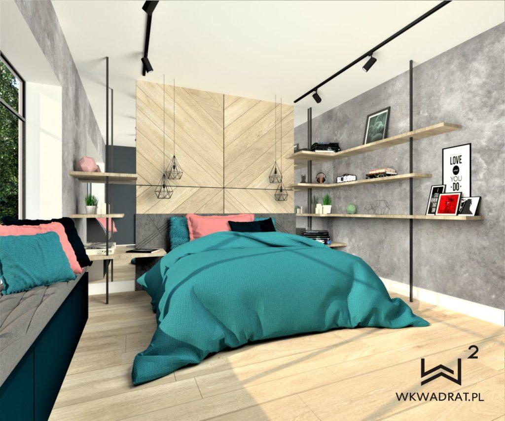 PROJEKTOWANIE I ARANŻACJA - ARCHITEKT WNĘTRZ OSTRÓDA 5-projekt-aranzacji-wnetrz-sypialni-zaglowek-frezowane-panele-pracownia-wkwadrat-pl