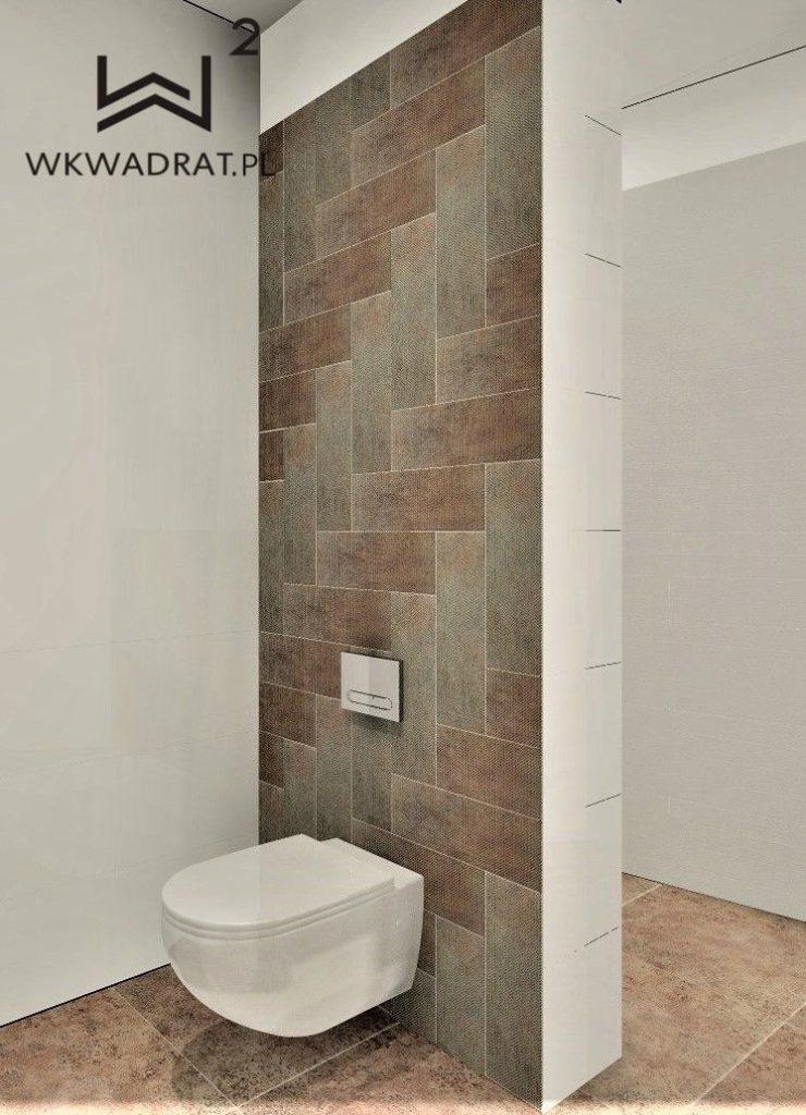 Architekt Wnetrz OStróda - Łazienka w obiekcie Oasis