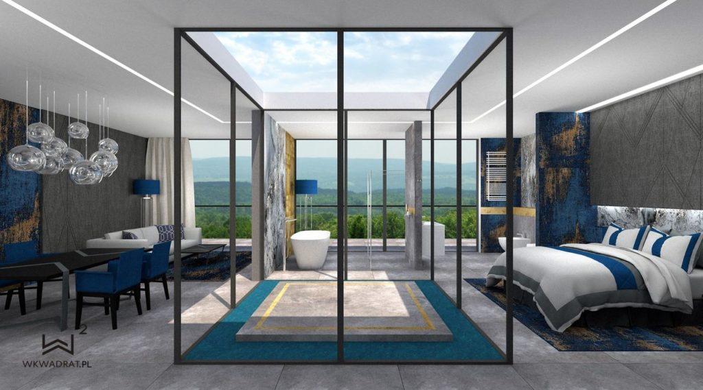 PROJEKTOWANIE I ARANŻACJA - ARCHITEKT WNĘTRZ OSTRÓDA 9-projekt-wnętrz-pokoju-hotelowego-aranzacja-apartementu-pracownia-wkwadrat-pl