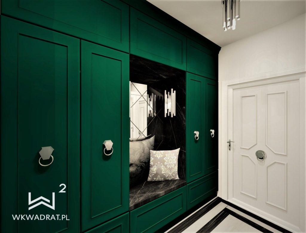 PROJEKTOWANIE I ARANŻACJA - ARCHITEKT WNĘTRZ OSTRÓDA projekt-aranzacji-hol-apartamentu-3-projektowanie-wnętrz-pracownia-wkwadrat-1